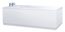 Crown High Gloss White Bath Panels with Plinths